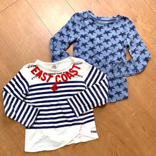 ジャンクストアー(JUNK STORE)のキッズTシャツ JUNK STORE✰︎オールドネイビー 2点セット✩.*˚(Tシャツ/カットソー)