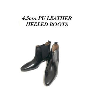 ジョンローレンスサリバン(JOHN LAWRENCE SULLIVAN)の<vintage archive>PU LEATHER 4.5cm BOOTS(ブーツ)