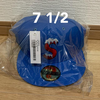Supreme - 7 1/2 Supreme New Era S Logo 20AW BLUE