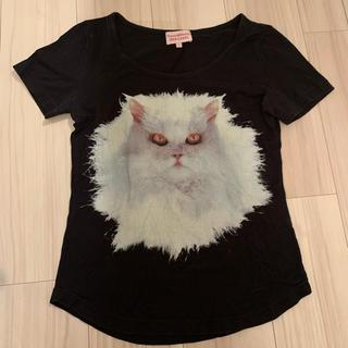 ヴィヴィアンウエストウッド(Vivienne Westwood)のヴィヴィアン♡猫Tシャツ(Tシャツ(半袖/袖なし))