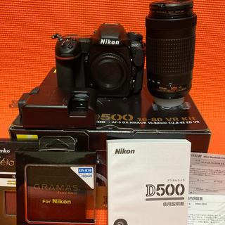 Nikon - メーカー保証残有 ニコン D500 & AF-P 70-300mm