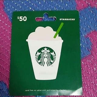 スターバックスコーヒー(Starbucks Coffee)の新品 スターバックスカード スタバ 限定 アメリカ限定 カード(フード/ドリンク券)