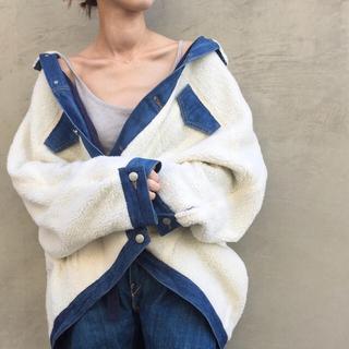 Shinzone - デニムボアジャケット 美品