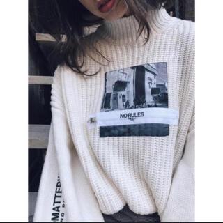 Ameri VINTAGE - 美品 ✨ Ameri Vintage photo print knit