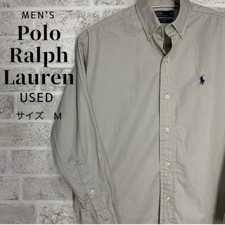 POLO RALPH LAUREN - 【紺ポニー】90s ラルフローレン BDシャツ 刺繍