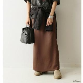 フレームワーク(FRAMeWORK)の20SS フレームワーク  ヘビーサテンタイトスカート(ロングスカート)