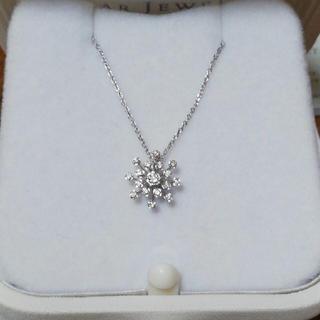 スタージュエリー(STAR JEWELRY)のスタージュエリー スパークリングダイヤモンド ネックレス K18(ネックレス)