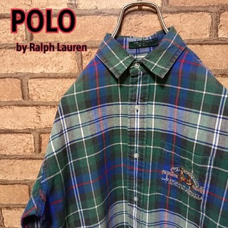 ラルフローレン(Ralph Lauren)のPOLO by Lalph Lauran  メンズ チェックシャツ(シャツ)