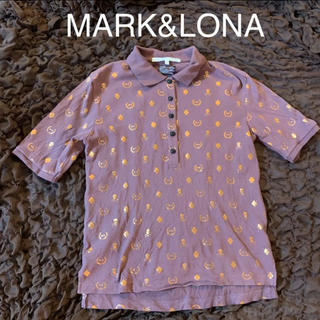 マークアンドロナ(MARK&LONA)のMARK&LONA★スカルモノグラム★ゴルフポロシャツ(ウエア)