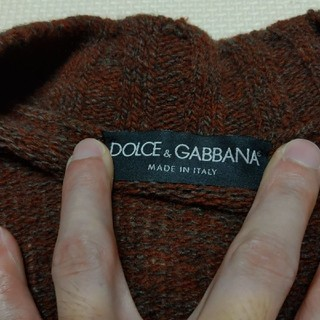 ドルチェアンドガッバーナ(DOLCE&GABBANA)のDOLCE&GABBANA メンズカーディガン 52 ドルチェ&ガッバーナ(カーディガン)
