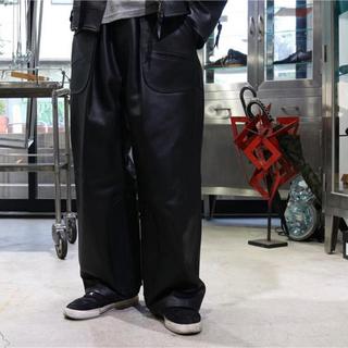 【即日完売】ナイスネス  niceness wagamama別注 レザーパンツ