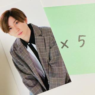 Johnny's - myojo11月号 厚紙 ストーンズ 京本大我 5枚