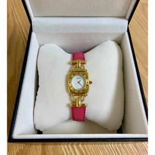 Gucci - GUCCIレディースクォーツ腕時計【美品】