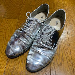 オリエンタルトラフィック(ORiental TRaffic)のオリエンタルトラフィック  シルバー レースアップ ローファー オリトラ M(ローファー/革靴)