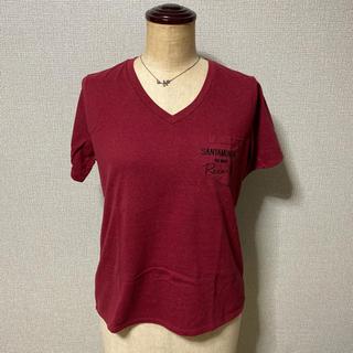 ディスコート(Discoat)の美品 Discoat Parisien ディスコート Tシャツ Vネック(Tシャツ(半袖/袖なし))