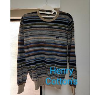 イセタン(伊勢丹)のHenry Cotton's ニット セーター (ニット/セーター)