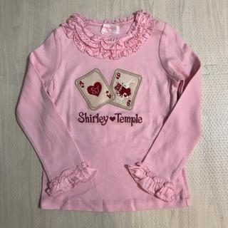 Shirley Temple - シャーリーテンプル トランプ アップリケ カットソー 110