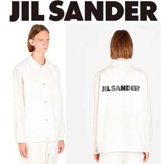 ジルサンダー(Jil Sander)の【新品】JIL SANDER ジルサンダー ロゴ ジャケット シャツ(その他)