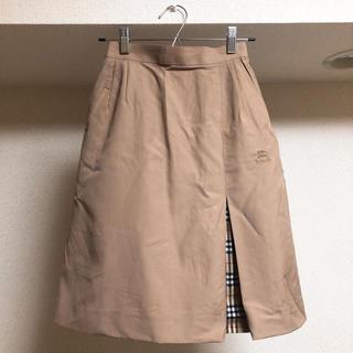 BURBERRY - バーバリー  ひざ丈スカート