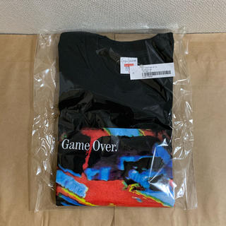 Supreme - 20fw 新品 黒 L supreme yohji game over tee