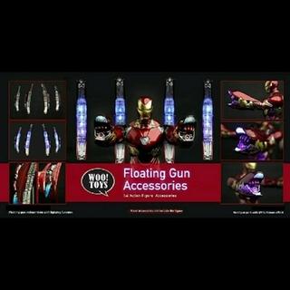 ホットトイズ アイアンマン MK50 アクセサリー 腕+背面 woo toys