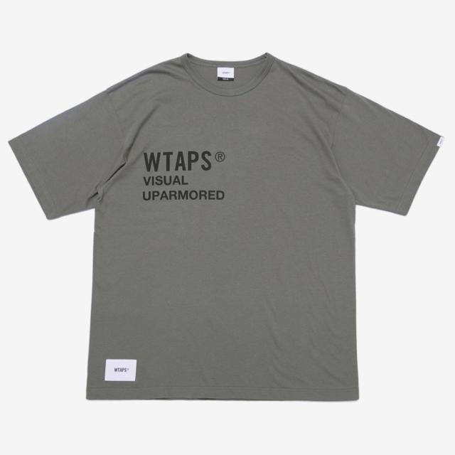 W)taps(ダブルタップス)のWTAPS PX Tシャツ XL オリーブドラブ メンズのトップス(Tシャツ/カットソー(半袖/袖なし))の商品写真