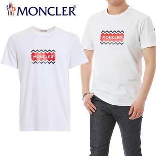 MONCLER - ★希少★ MONCLER ロゴプリントTシャツ L モンクレール 入手困難 赤字