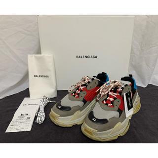 Balenciaga - BALENCIAGA トリプル S トレーナー マルチ 42 購入レシート