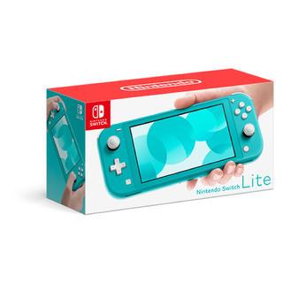 ニンテンドースイッチ(Nintendo Switch)のSwitch Lite 任天堂 スイッチ 本体 ニンテンドウ ターコイズ 新品(携帯用ゲーム機本体)
