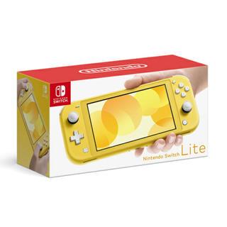 ニンテンドースイッチ(Nintendo Switch)の新品 Nintendo Switch Lite イエロー(家庭用ゲーム機本体)
