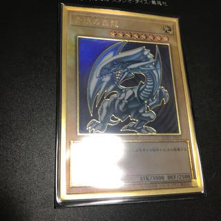 コナミ(KONAMI)の遊戯王ブルーアイズ プレミアムゴールド(シングルカード)
