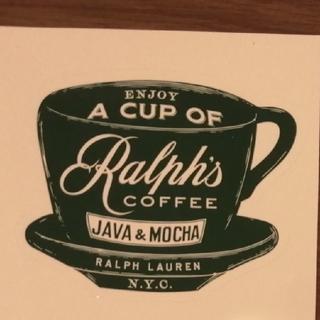 ポロラルフローレン(POLO RALPH LAUREN)のラルフズコーヒー ポロラルフローレン 非売品ステッカー ノベルティ(その他)