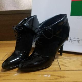 ギンザカネマツ(GINZA Kanematsu)のかねまつ 21.5 ショートブーツ(ブーツ)