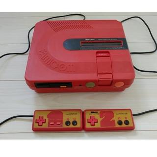 シャープ(SHARP)の【値下げ】SHARP ツインファミコン AN-500R 前期型 (箱・説明書付)(家庭用ゲーム機本体)