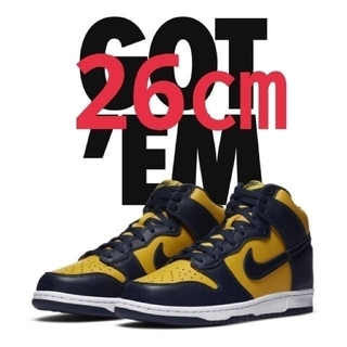 "NIKE - NIKE DUNK HIGH SP ""MICHIGAN"""