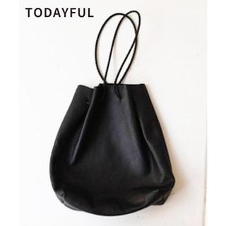 トゥデイフル(TODAYFUL)のTODAYFUL Soft Leather Purse ソフトレザーパース(ショルダーバッグ)