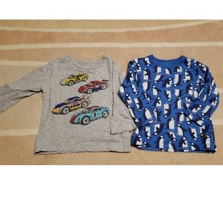 ベビーギャップ(babyGAP)のbabyGAP 長袖Tシャツ 2枚  90センチ(Tシャツ/カットソー)