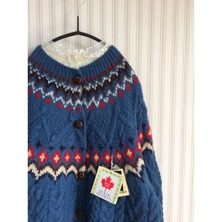 Lochie - 古着 総柄 ケーブルニット セーター vintage used  ヴィンテージ