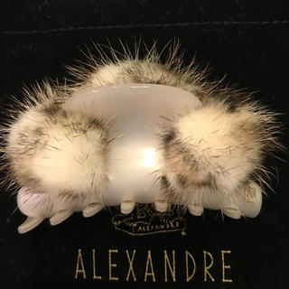 Alexandre de Paris - アレクサンドルドゥパリ  ミンク クリップ