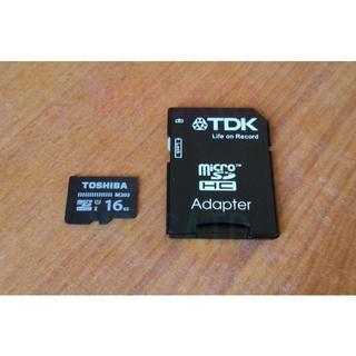 トウシバ(東芝)の東芝 M203 16GB microSD(その他)