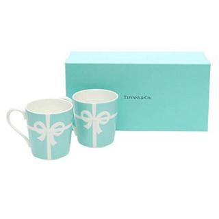 Tiffany & Co. - 【TIFFANY(ティファニー)】ブルーボックス マグ2個入り*2