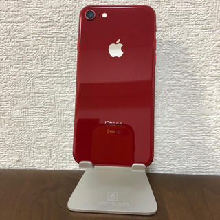 iPhone - iPhone8 本体 64GB RED SIMフリー