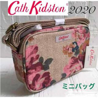 キャスキッドソン(Cath Kidston)のキャスキッドソン  ミニバッグ ショルダーバッグ  花柄 秋色 送料無料(ショルダーバッグ)