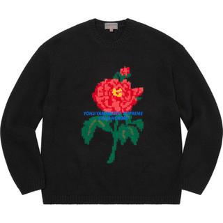 シュプリーム(Supreme)のSupreme Yohji Yamamoto Sweater Black L(ニット/セーター)