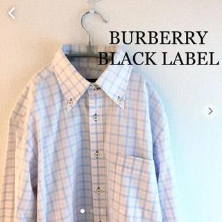 バーバリーブラックレーベル(BURBERRY BLACK LABEL)のバーバリー ブラックレーベル 長袖シャツ BURBERRY BLACKLABEL(シャツ)