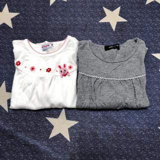 ミキハウス(mikihouse)の2点セットMIKIHOUSE コムサ ファミリア ホットビスケッツ(Tシャツ/カットソー)
