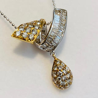 【未使用】ダイヤ 1カラット ダイヤ ネックレス 20Y-145