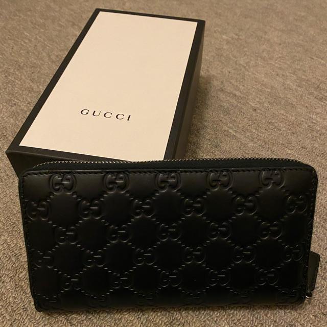 Gucci(グッチ)のグッチ シグネチャー ジップアラウンド ウォレット  メンズのファッション小物(長財布)の商品写真