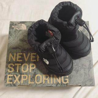 ザノースフェイス(THE NORTH FACE)のthe north face ヌプシブーティ 16.0cm ブラック ブーツ(ブーツ)