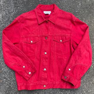 Calvin Klein - CK カルバンクライン USA製 ジャケット レッド